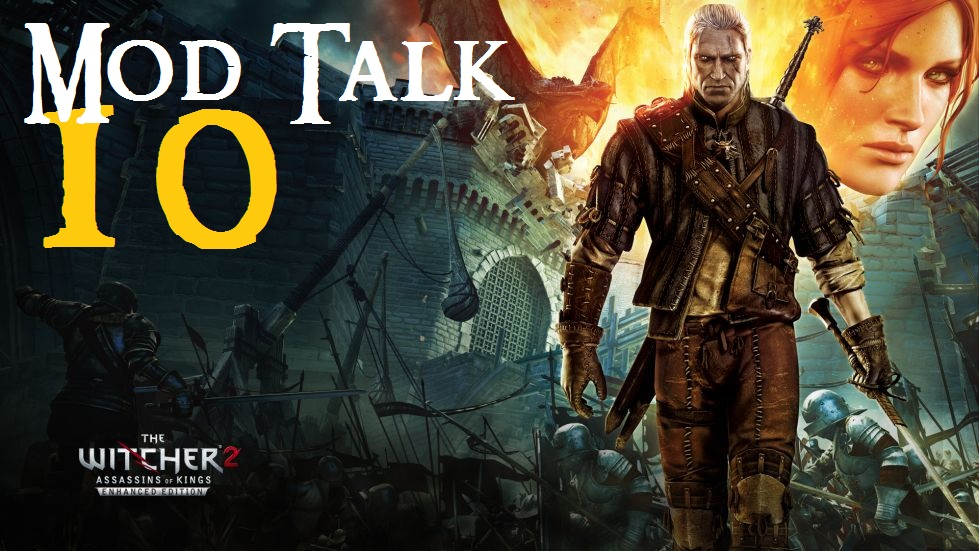 witcher2 10 mod talk