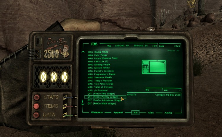 A Familiar Friend – Pip-Boy 2500 – Handheld Pipboy