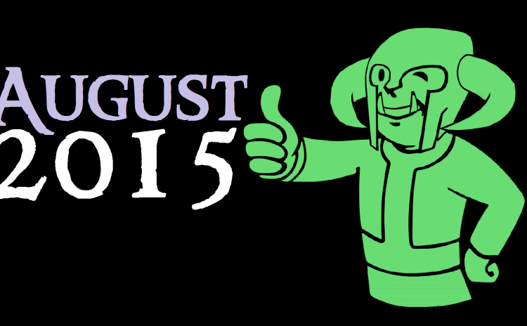 Minions Monthly August 2015