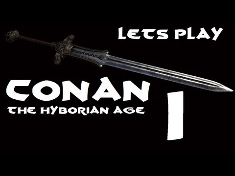 Let's Play Conan : The Hyborian Age (Skyrim Mod)