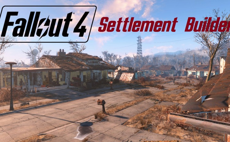 FALLOUT 4: Settlement Builder