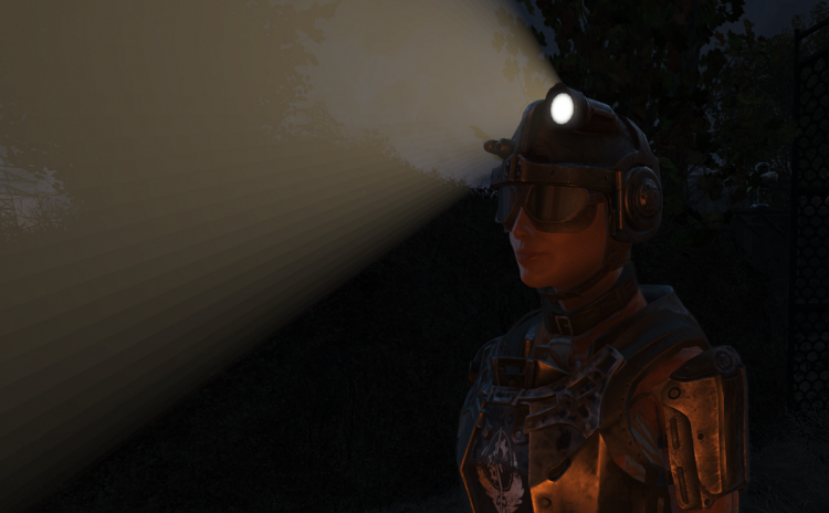 Combat Helmet Illumination