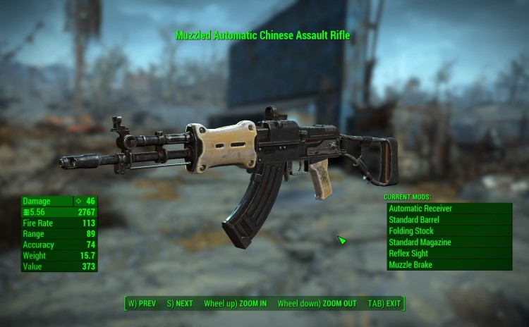 Wasteland Melody's Chinese Assault Rifle – Standalone