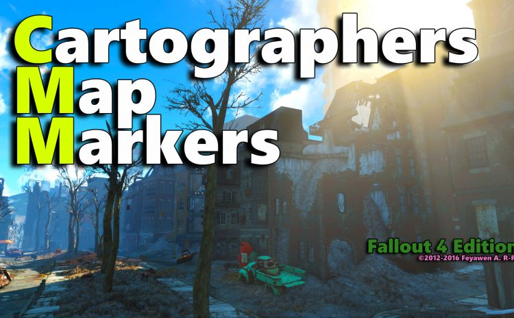CMM Cartographers Map Markers Fallout4 Edition