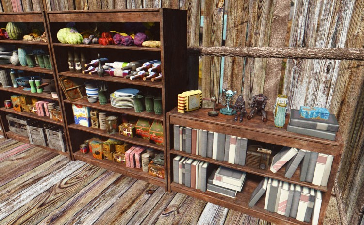Do It Yourshelf – Clutter for Shelves and Bookcases