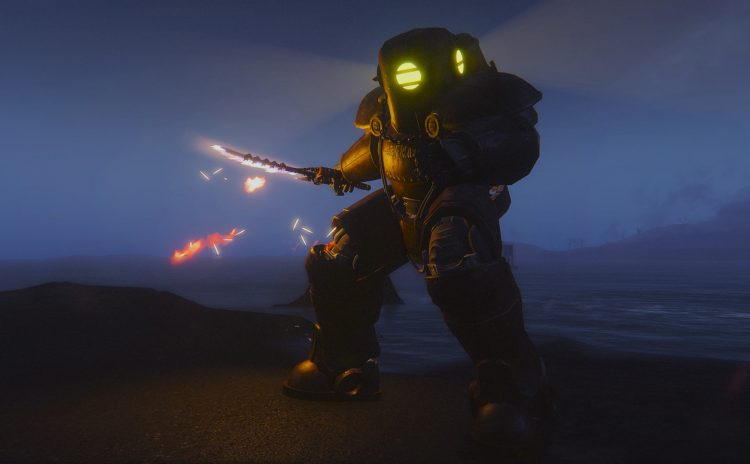 Submersible Power Armor -Bioshock Inspired-
