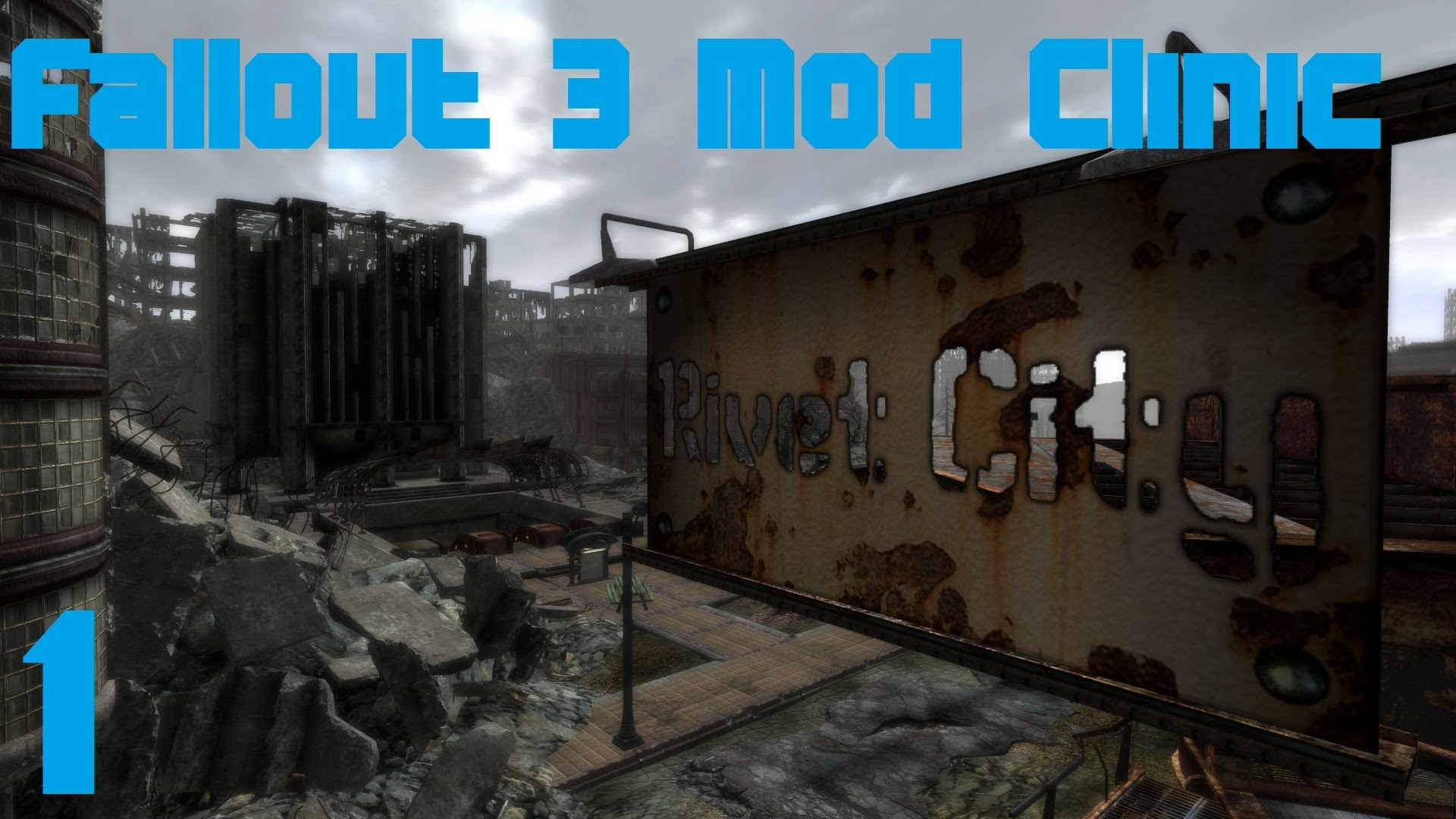Gophers Vids » Fallout 3 Mod Clinic part 1 : Remastered